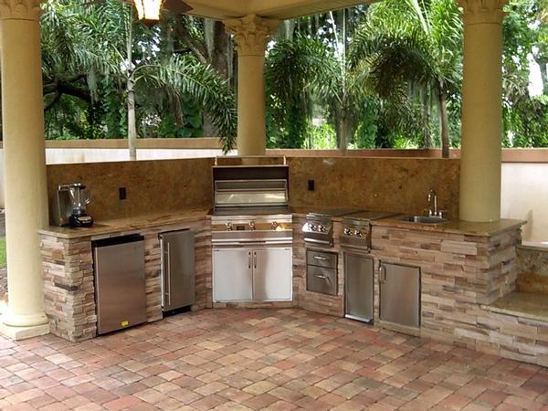 Kuchnia letnia  Projektowanie i wyposażenie kuchni -> Kuchnia Letnia Co To