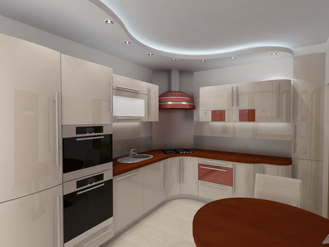We wnętrzu  Kuchnia -> Urządzanie Kuchni Z Jadalnią