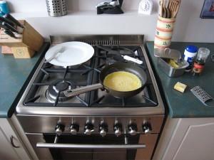 Domowa kuchenka gazowa
