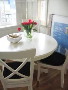 okrągły stół do kuchni