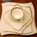 Porcelanowa zastawa stołowa