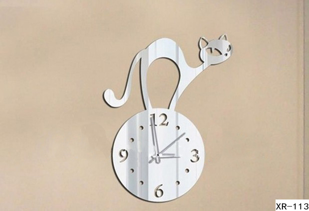 xr113-Free-shipping-Modern-Abstract-font-b-Cat-b-font-Wall-font-b-Clock-b-font