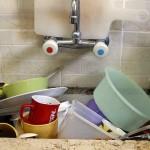 Sposób na czyste ściany w kuchni