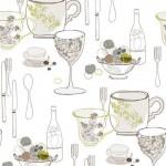 12 Szalonych pomysłów na tapety w kuchni