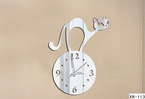 xr113-Free-shipping-Modern-Abstract-font-b-Cat-b-font-Wall-font-b-Clock-b-font