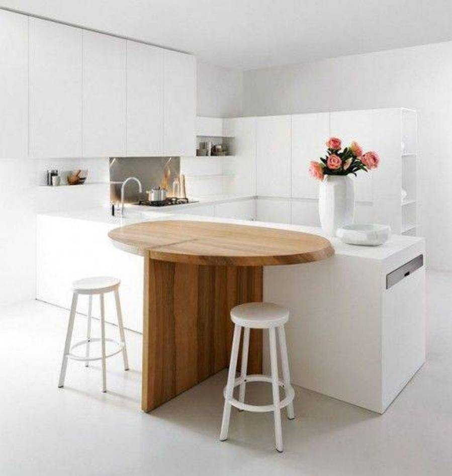 furniture-kitchen-minimalist-small-kitchen-with-amazing-ellipse-kitchen-table-and-vintage-bar-stools-also-white-kitchen-cabinets-perfect-small-white-kitchen-table-and-chairs-design