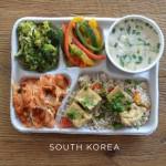 Co dzieci z siedmiu rożnych krajów jedzą w szkołach?